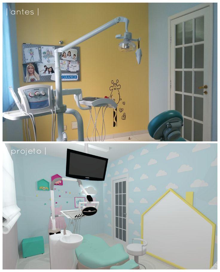 Consultório odontológico colorido | CDA projetos