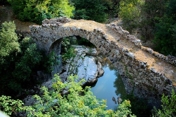 Monte Forcella-Serralunga con il Fiume Bussento