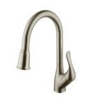 A-710-BN Single Handle Brushed Nickel Kitchen Faucet