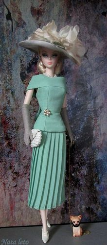 Silkstone Barbie Doll Mermaid Gown | Explore Nata-leto's pho… | Flickr - Photo Sharing!