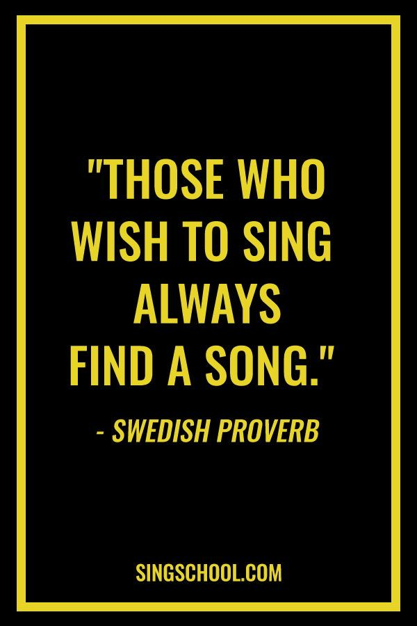 popular quotes on song