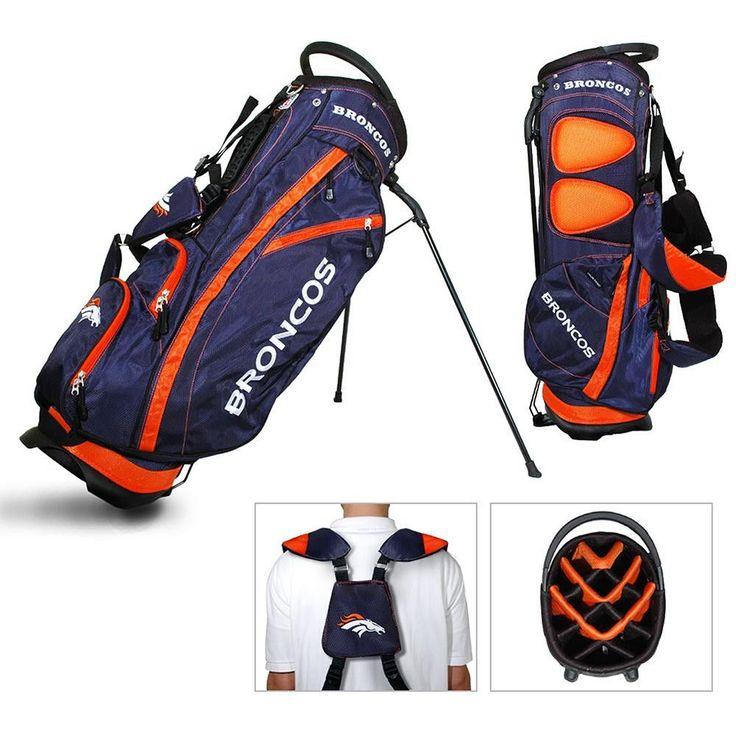 Denver Broncos NFL Stand Bag - 14 way Fairway