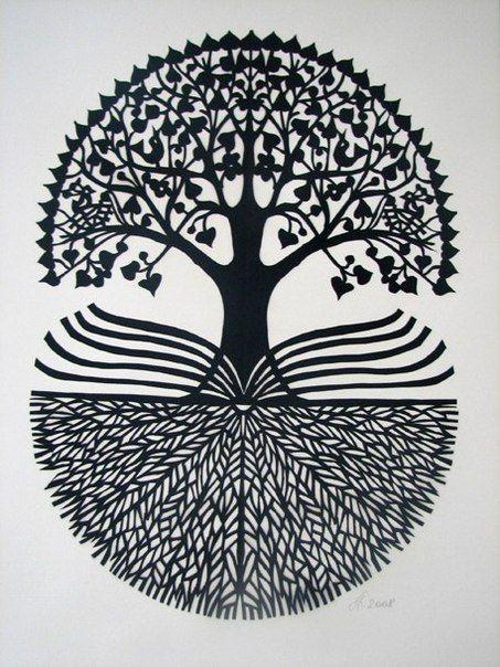 Scherenschnitte Tree of Life / Arbre de vie