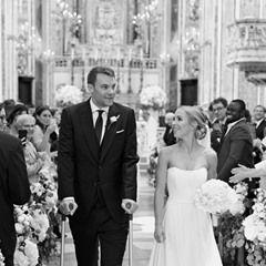 German footballer Manuel Neuer marries girlfriend Nina in Italy