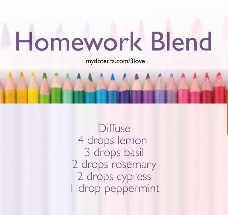I've been diffusing this homework blend this afternoon to help the kids stay focused and get their homework finished. What do you diffuse for focus? mydoterra.com/3love