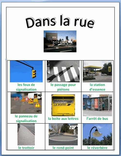 la ville (imagier) flascards http://es.scribd.com/doc/9839726/Buildings-and-Places-LW-Flashcards