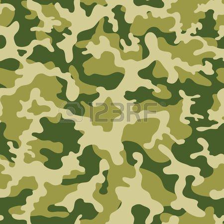 motif de camouflage militaire. Vector seamless Banque d'images - 35107672