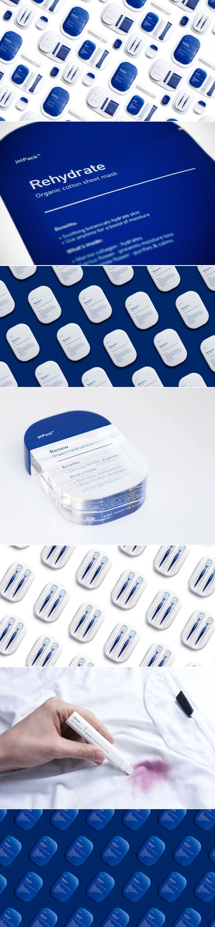 What If You Were Given Hand Sanitizer Every Time You Flew With JetBlue? — The Dieline | Packaging & Branding Design & Innovation News