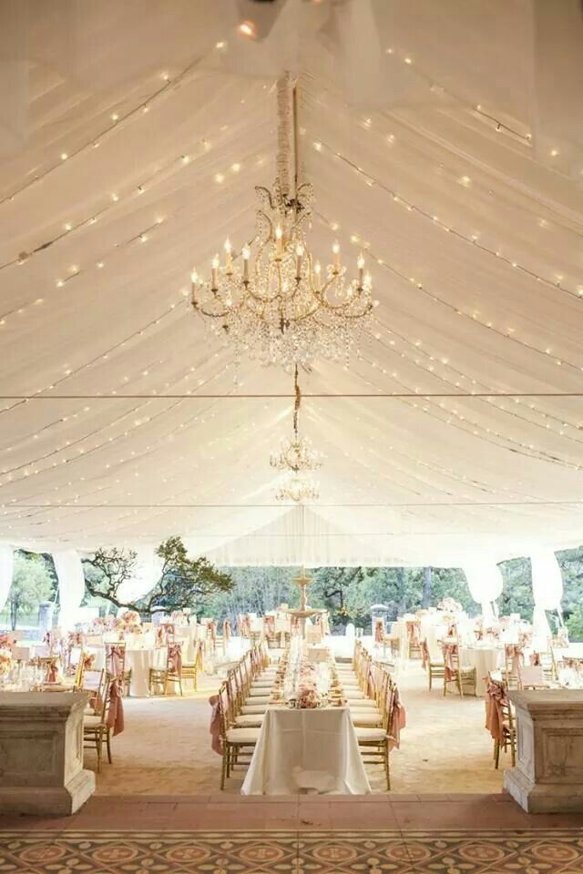Have the dance floor at one end of the room and the bride and groom table in front of it