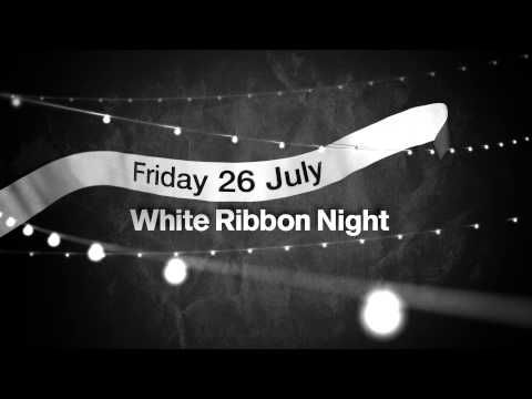 White Ribbon Night. Have a night in to get the word out.