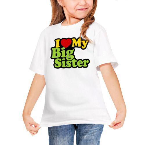 Детская футболка Люблю старшую сестру