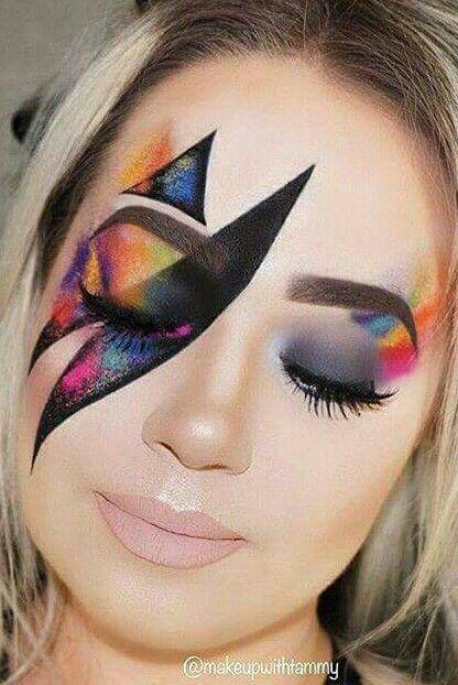 Cool #makeup #exoticmakeup