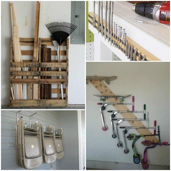 ideas to organize your garage