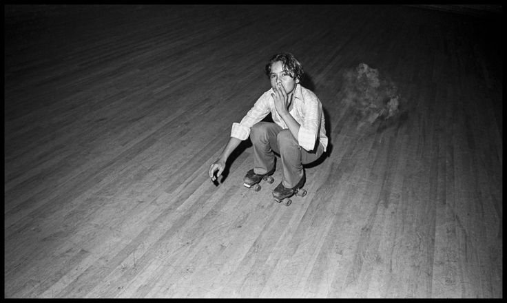 """These photographs, """"At the Sweetheart Rink,"""" shot in a rural area east of Tampa, Fla., by Bill Yates, capture a remarkable moment in 1972-73 when the cultural changes that began in the '60s were washing through. They're weird and powerful, suffused with sexuality and hints of violence, and indelibly Southern. With compelling text by Chuck Reece on how the pictures finally saw the light of day. — Peter Applebome, Deputy National Editor"""