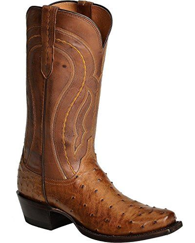 069ab71849a Lucchese Men s Handcrafted 1883 Full Quill Ostrich Western Boot Square Toe  Review