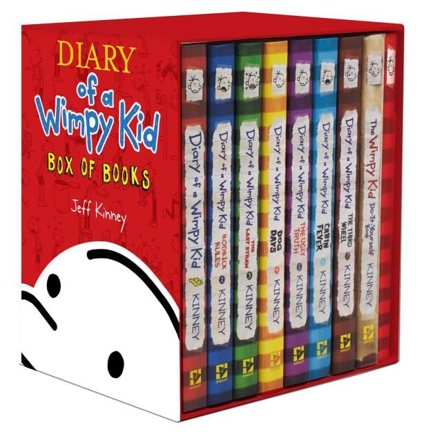 All About the Diary of a Wimpy Kid Series: Diary of A Wimpy Kid Books, Including the New One