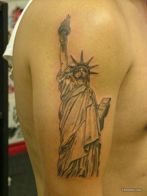 Statue of liberty 480 640 tattoo for Statue of liberty tattoo