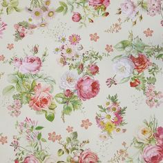 Rose Bouquets Specialty Paper ~ Germany
