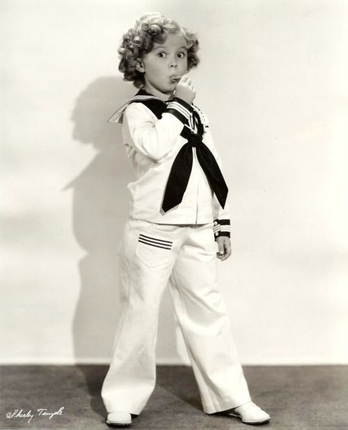 Shirley Temple On The Good Ship Lollipop. I loved her movies. My ...