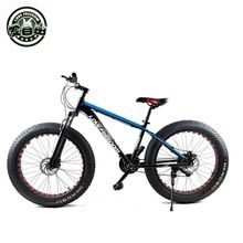 26 inch 24-speed cross-country mountain bike aluminum frame snow beach 4.0 oversized bicycle tire Dirt Bikes for men and women