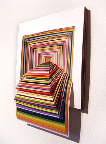 grandiose Papierkunst - Jen Stark