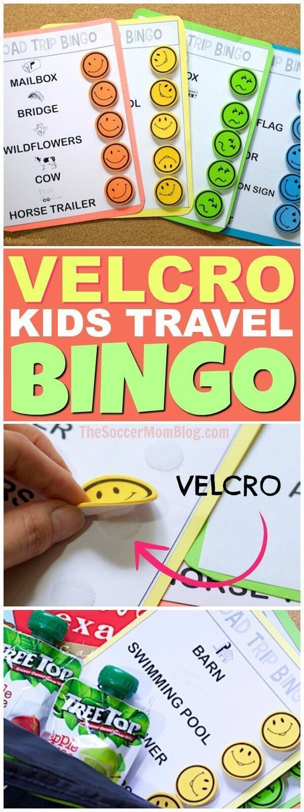 Keep your kids entertained for hours on car rides with this free printable Road Trip Bingo travel game! Plus more of our favorite road trip essentials! #ad #NoMessInTexas