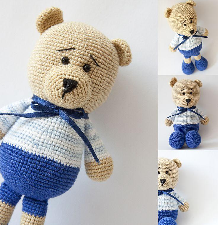 Amigurumi. Teddy bear.