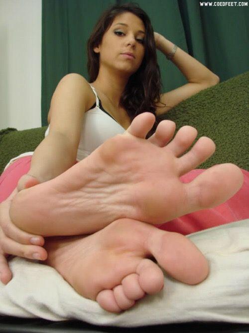 Sexy womans feet