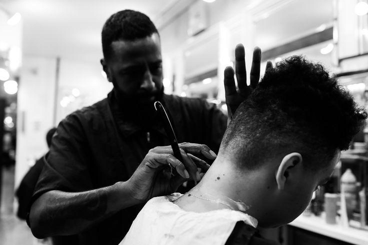 Lined Up: Evolution of The Black Barber Shop   Bevel Code