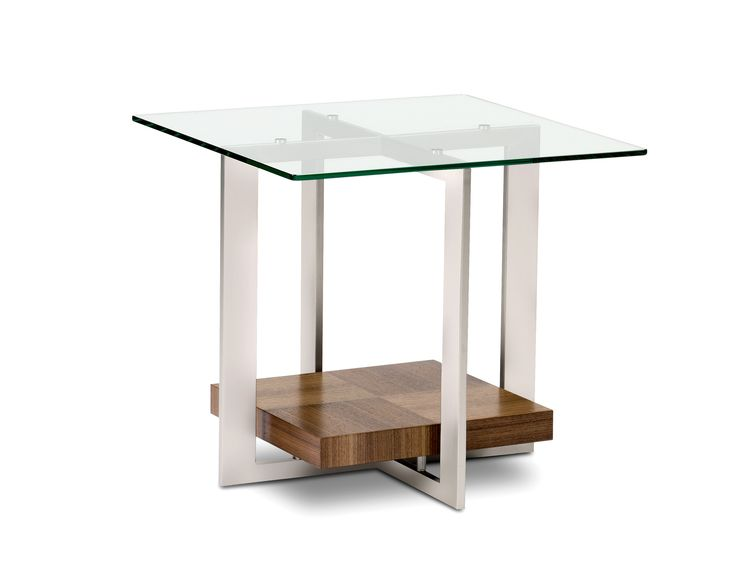Furniture : Inspiration Furniture Terrific Square Glass Top Modern Side  Table With Stainless Steel Base Legs As Inspiring Modern High End Table  Ideas ...