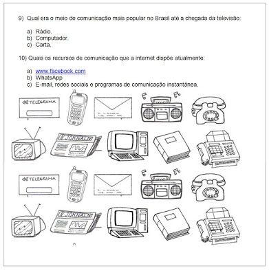 Atividades Para Imprimir Do 3º Ao 5º Anos Sempre A Mao Meios De