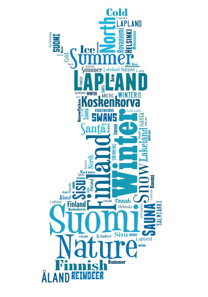 Sisu Suomi map – Sisu Suomi kartta