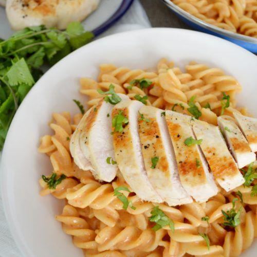 Pasta Al Chipotle Facil Rapida Pocos Ingredientes Muy Deliciosa Receta Comida Recetas De Comida Saludable Resetas De Comida Saludable