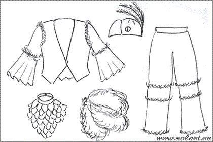 Карнавальный костюм попугая выкройки