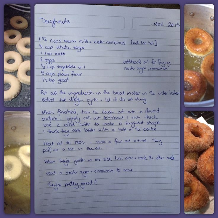 Doughnuts. Inspired by various recipes, culminating in a delicious experiment.