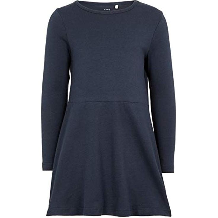 NAME IT Mädchen Kleid Langarm Baumwolle NMFVANYA LS Dress #Bekleidung #Mädchen…