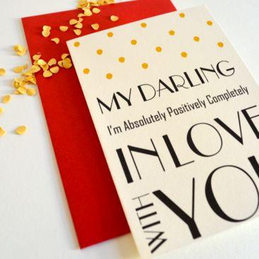 My Darling Paper goods from #Schwarzie