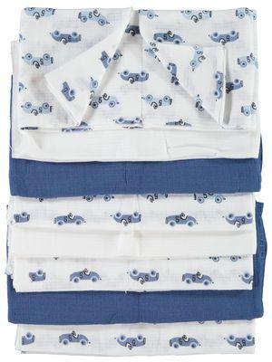 NEWBORN NIT8-PAKNING GULPEKLUTER, Cashmere Blue