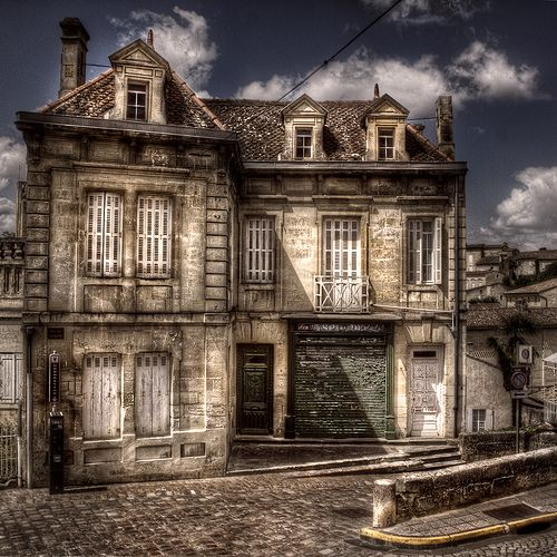 An abandoned house in France.