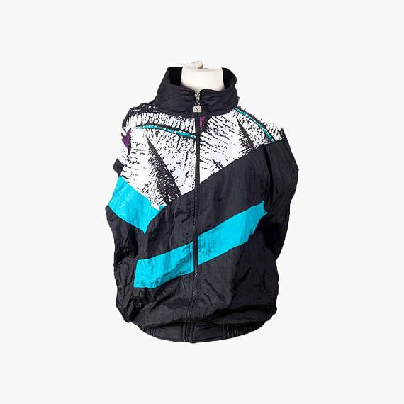 80s windbreaker,Vintage jacket