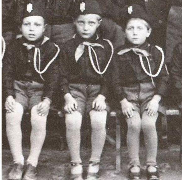 Balilla boys (Italy, 1938) -- the Italian Hitler Youth