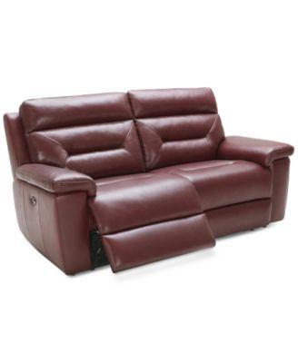 Quinton 2-Piece Leather Reclining Sofa