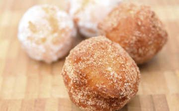 Fat Free Baked Apple Doughnuts