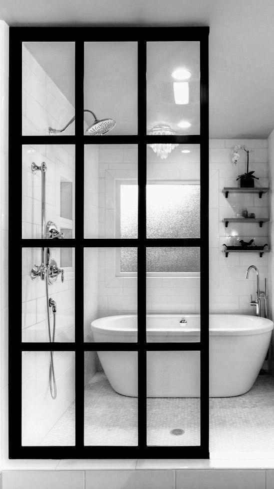 best 25 wet room shower screens ideas on pinterest On wet room divider