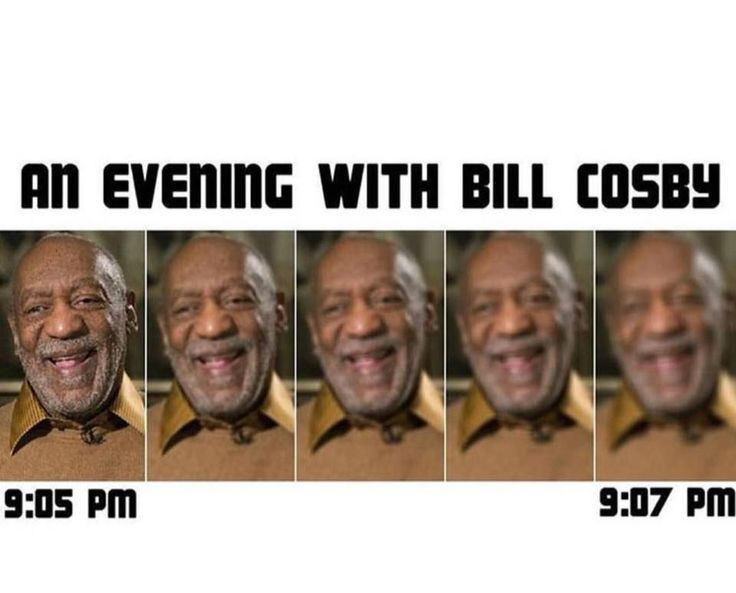 Funny Meme An Evening With Bill Cosby...