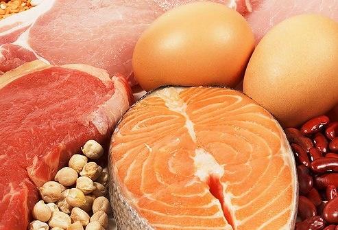 100 Lebensmittel mit viel Protein