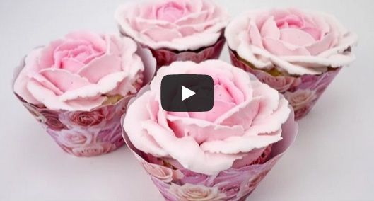 Wonderful Pipe buttercream roses decorating and recipe here.  All detail video;   ...