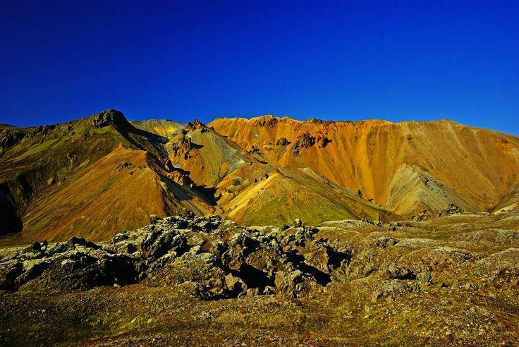 I paesaggi del Landmannalaugar