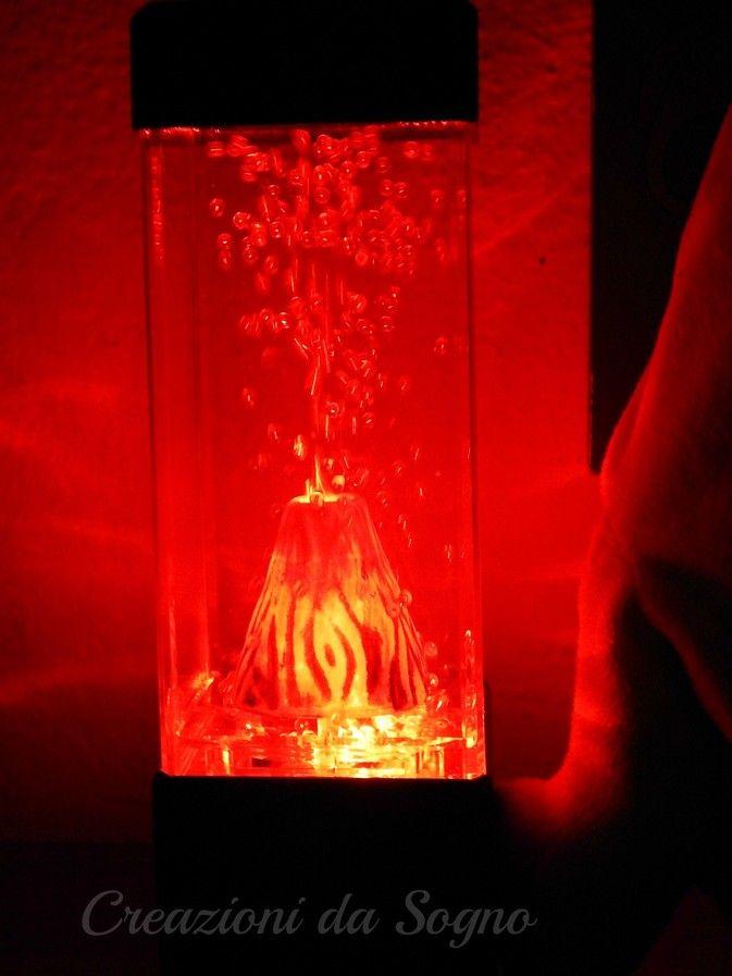 Lampada Vulcano