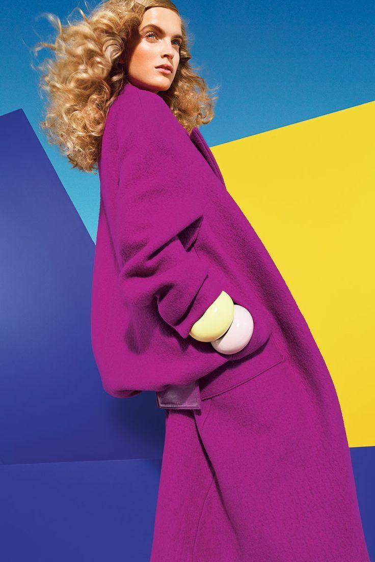 purple, blue, light blue, yellow are harmonious. | Colour ...